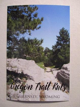 OREGON TRAIL RUTS POST CARD
