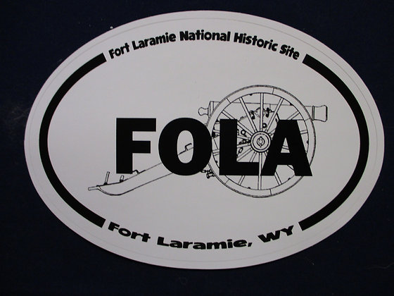 Fort Laramie National Historic Site Sticker
