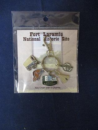 Fort Laramie Charm Keychain