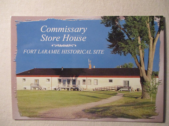 Commissary Storehouse Postcard