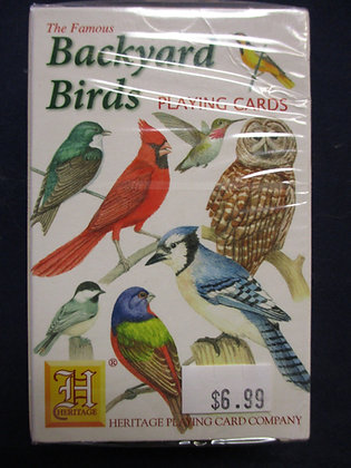 Backyard Birds Playing Cards
