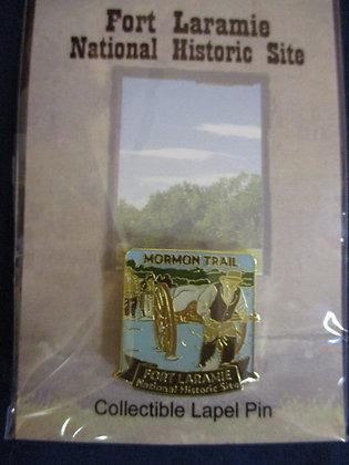 Mormon Trail Lapel Pin