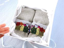 花咲きサボテンのカフブレスレット