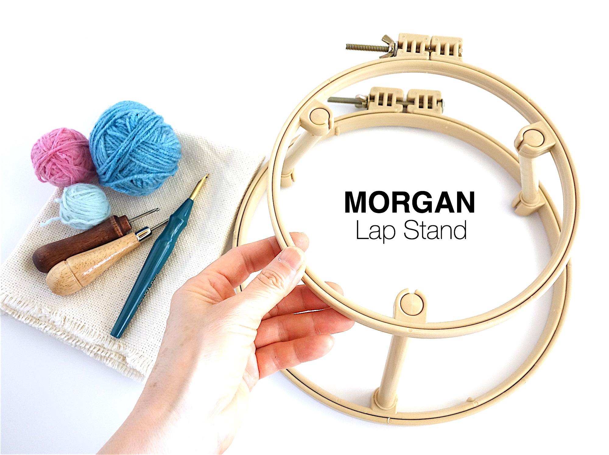 "MORGAM 7""10""ラップスタンド"