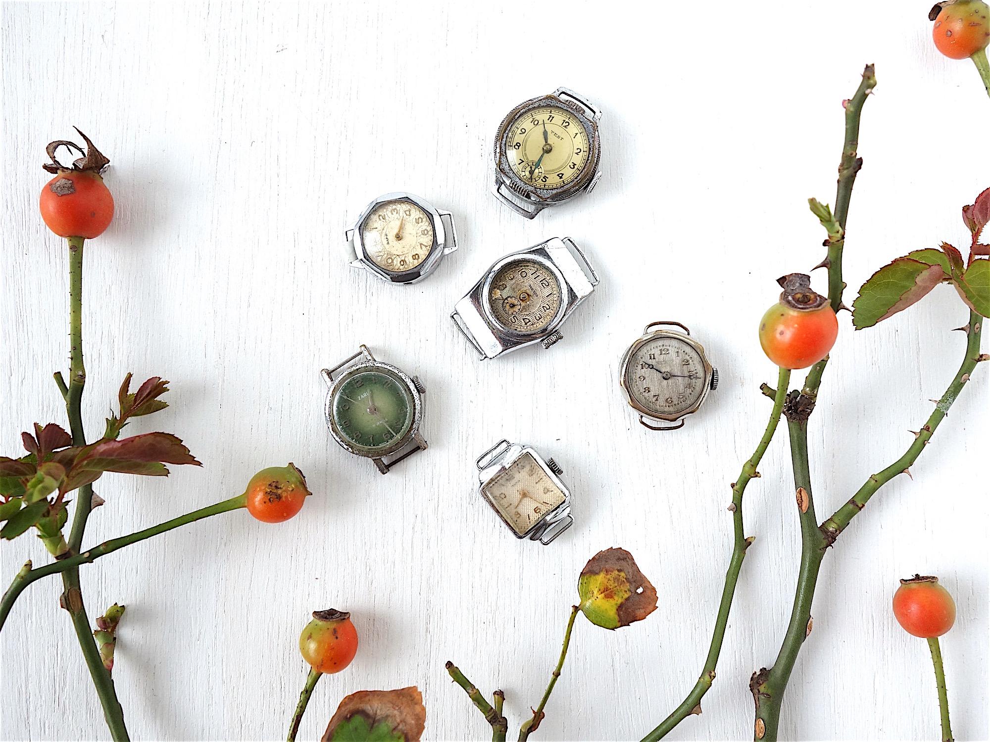 旧ソ連のビンテージ時計