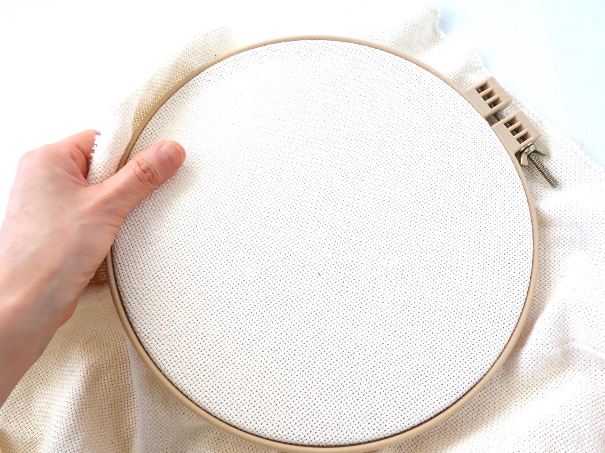 MORGAMに綿土台布を