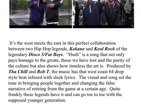"""""""HUSH"""" by Kokane and Kool Rock...Song Review"""