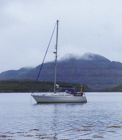 Laoni (Anne Robb) at Loch Drumbue