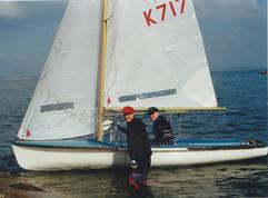 Sam Banford & Gerry Lennon in the 470