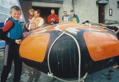 Launching D Class Rescue Boat