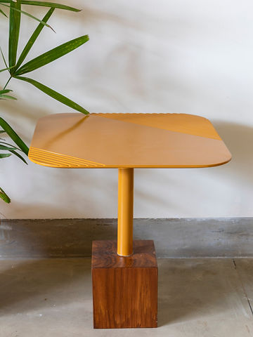 Metric Side Table Cube
