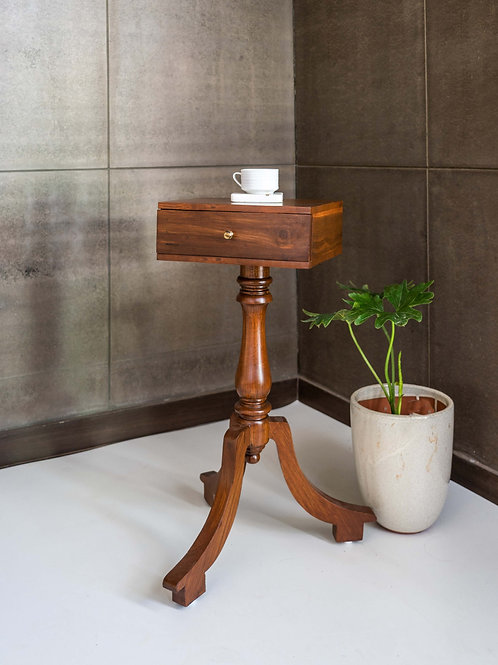 Bombay Vintage End Table Square