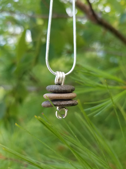 Lake Michigan Stacker Necklace