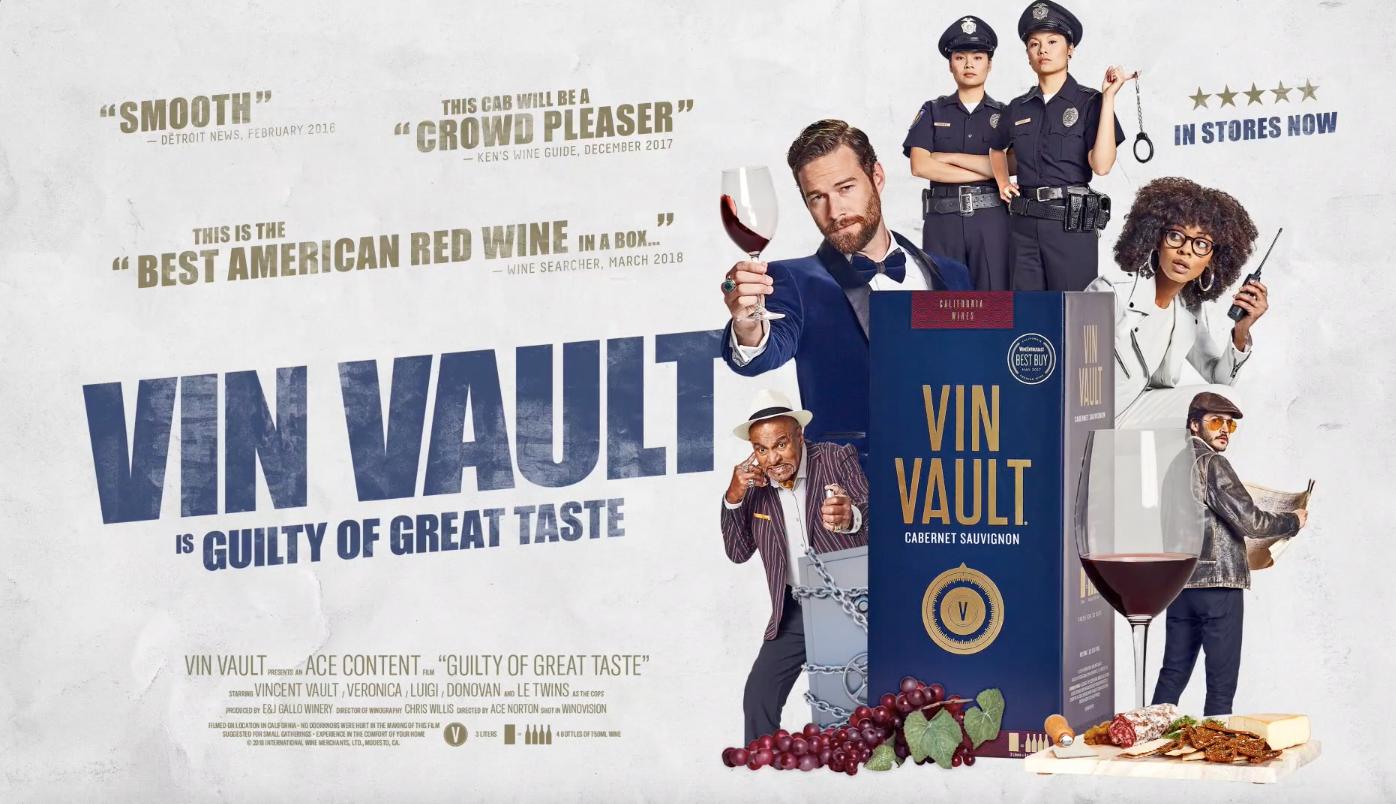 vin vault commercial