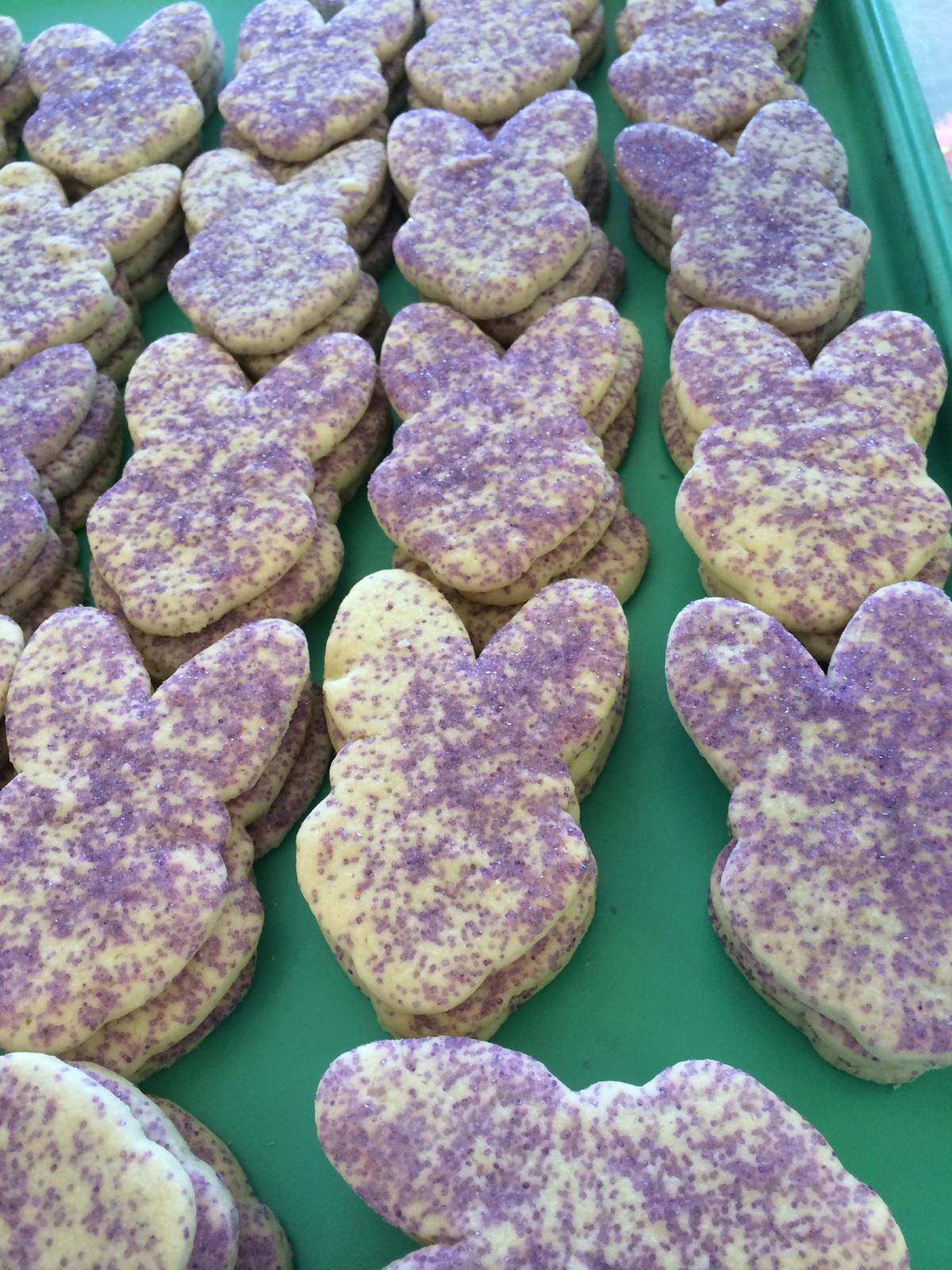 bunny cookies