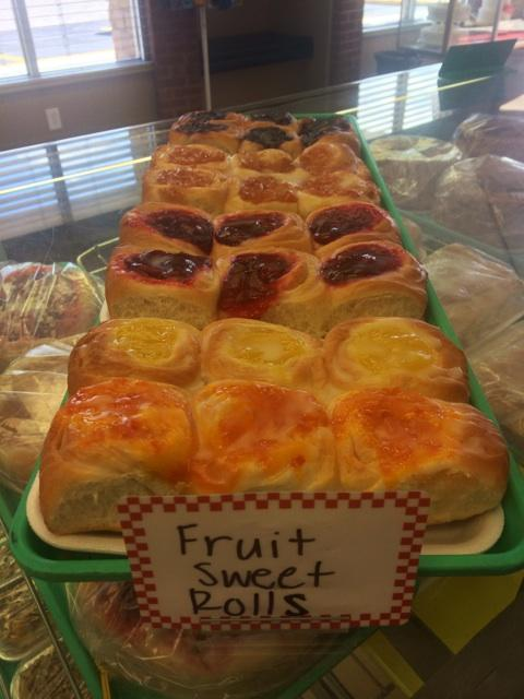 Fruit Sweet Rolls