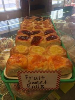 Fruit Sweet Rolls
