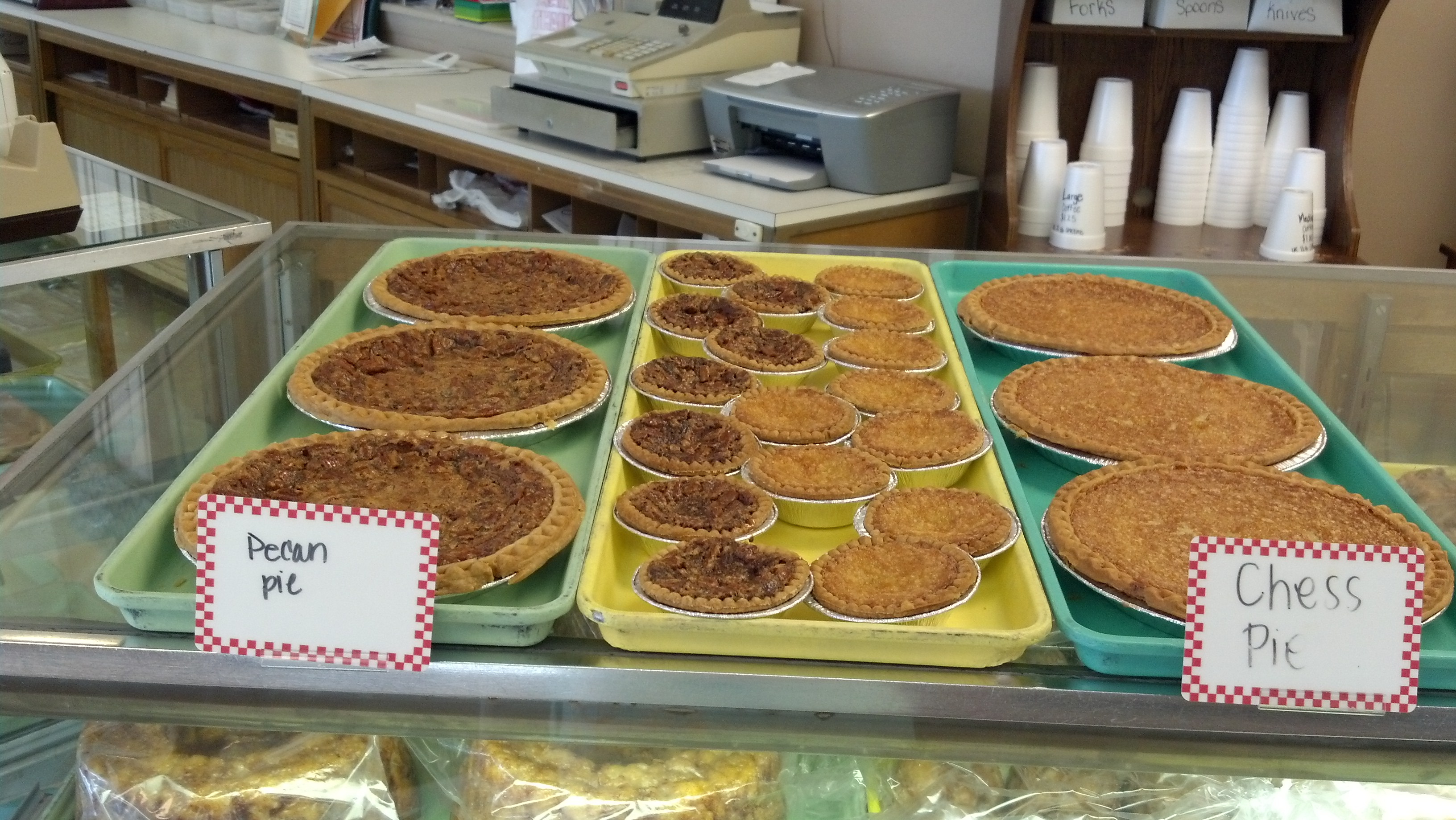 Pecan Pies, Chess Pies and tarts