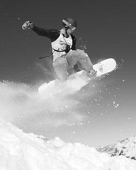 outdoors-snow-mountain-orange-snowboard-