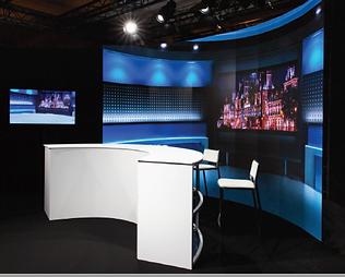 Exemple de plateau TV