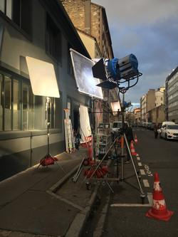 Tournage Série Canal + au TREIZE EPHEMERE