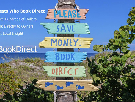 SAVE Money and #BookDirect & How to Book Direct with an owner!