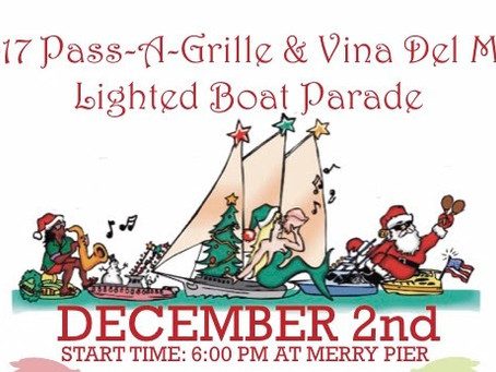 The Pass-a-Grille Boat Parade is this weekend!