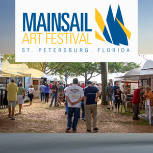 View handmade works in diverse mediums at this non-profit festival in St Pete.