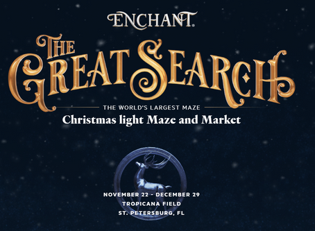St Pete has a WinterWonderland - Enchant Christmas!
