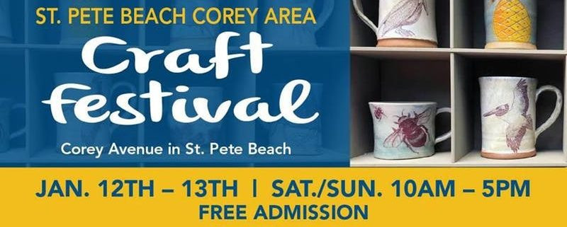 St Pete Beach Corey Area Craft Festival