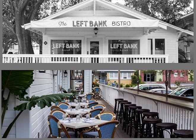 St Pete favorite, The Left Bank Bistro