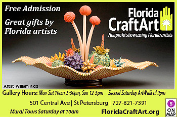 Mixed media art from presented by Florida Artists