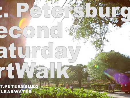 ArtWalk - it's what to do in St Petersburg this weekend!