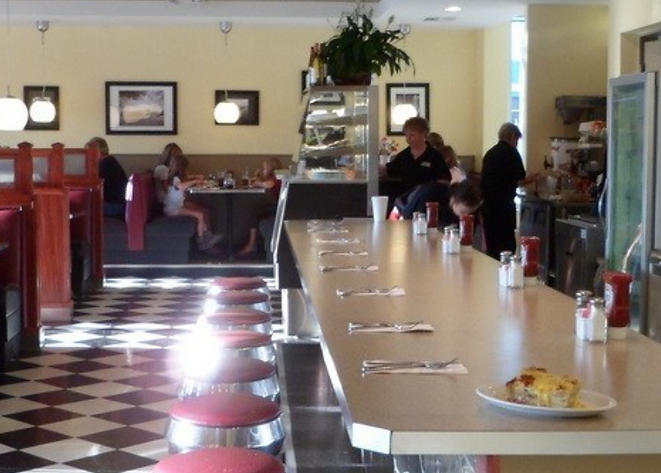 Great diner food near your rental!