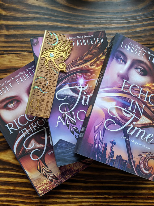 ECHO TRILOGY: THE COMPLETE SERIES Signed Paperbacks & Woodmark