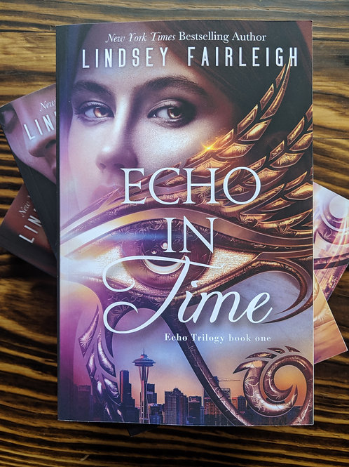 ECHO TRILOGY: THE COMPLETE SERIES Signed Paperbacks