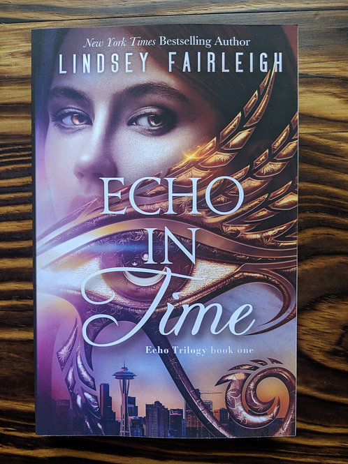 ECHO IN TIME Signed Paperback