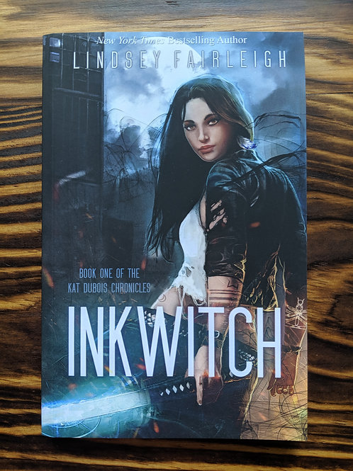 INK WITCH Signed Paperback