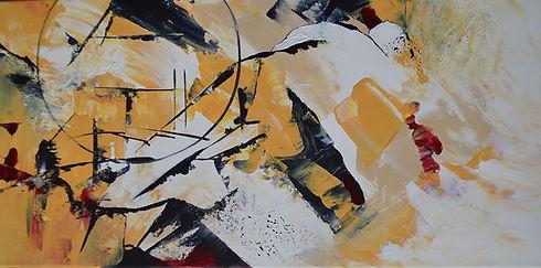 Anima, 2020, acrylique sur toile, 12_ X