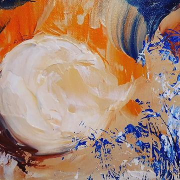 Onctueuses, acrylique sur toile, 6_ X 36