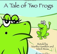 The Tale of Two Frogs Cover