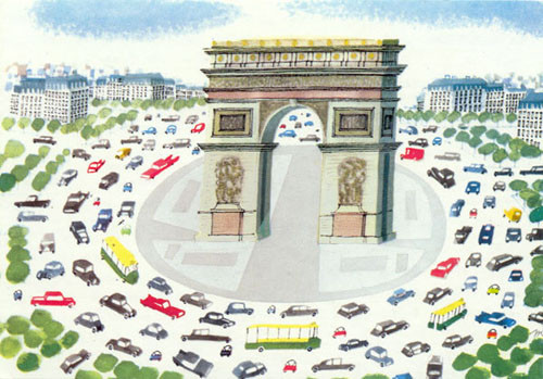 Illustration by Miroslav Sasek