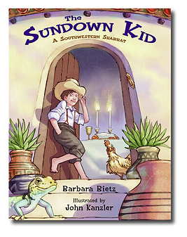 The Sundown Kid: A Southwestern Shabbat Cover
