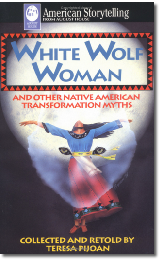 White Wolf Woman Cover
