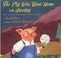 The Pig Who Went Home on Sunday Cover