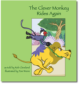 The Clever Monkey Rides Again Cover