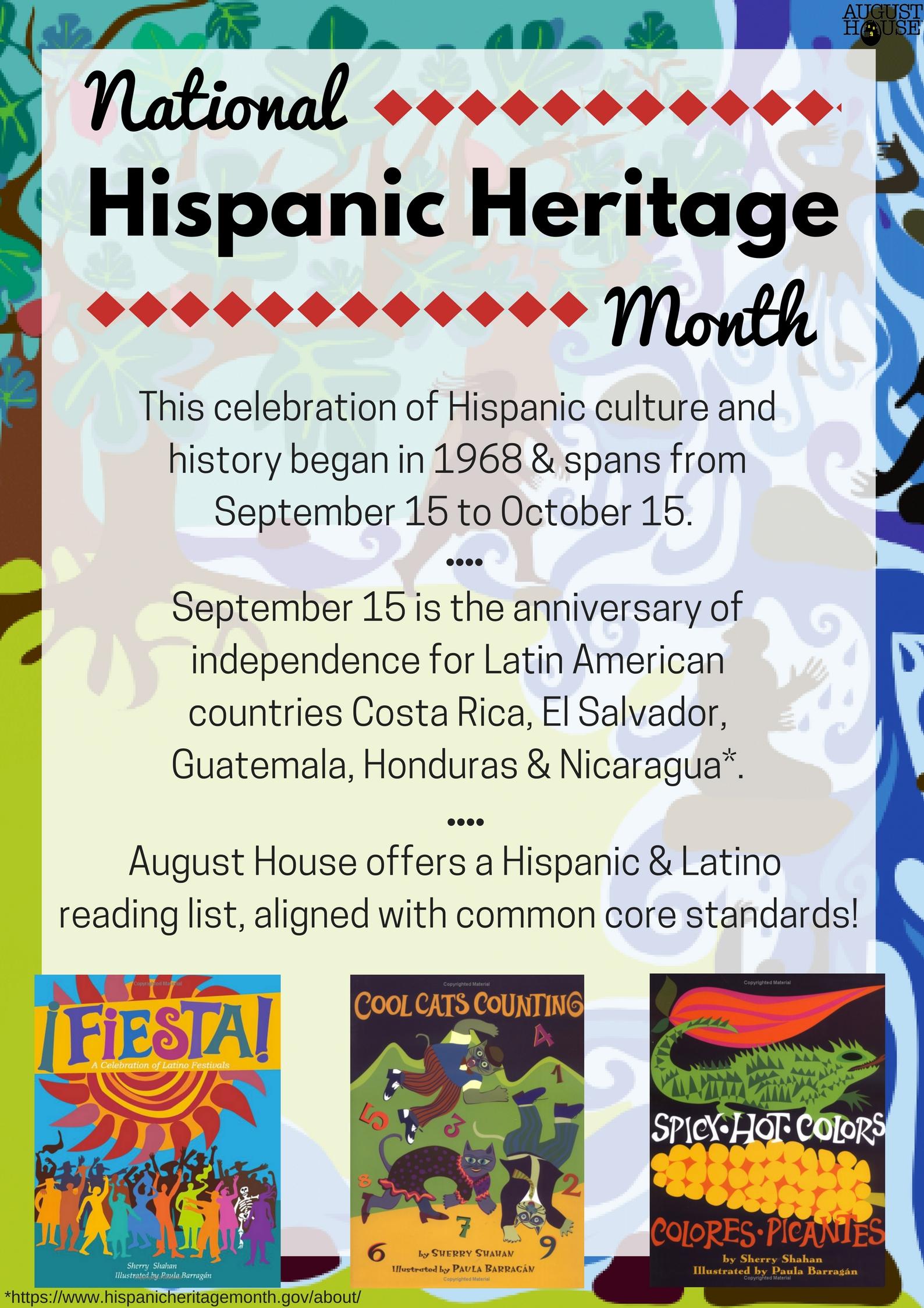 hispanic heritage month flyer