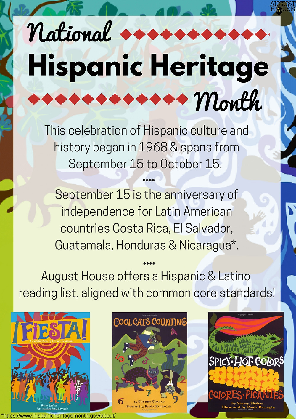 Poster: National Hispanic Heritage Month