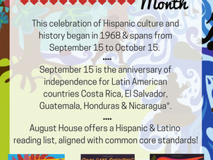 Poster: Celebrate Hispanic Heritage Month