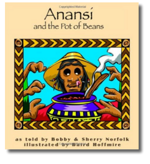 Anansi and the Pot of Beans Cover